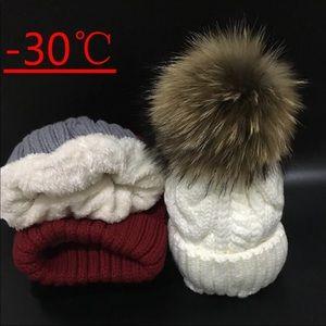 2019 Women's hats Add velvet Fleece Hat/ Soft Hat